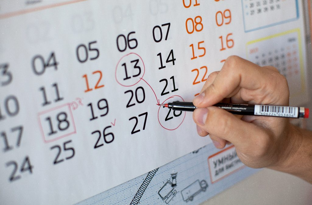 Расписание курсов